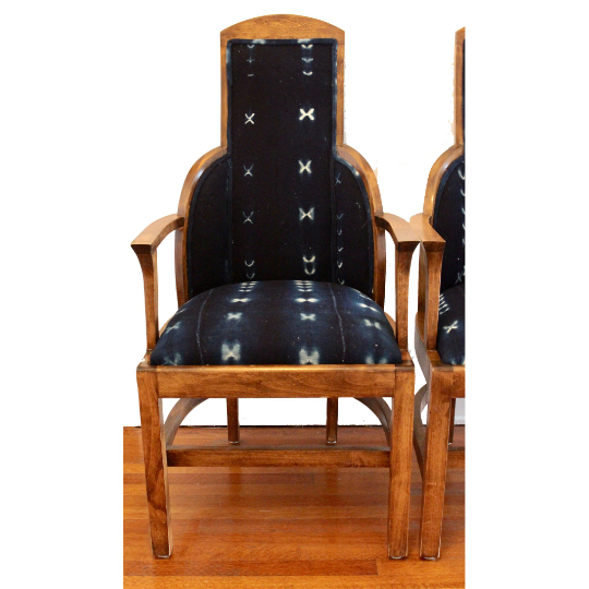 Set of Art Deco Chairs with a Bohemian Twist - Eye Heart Curated