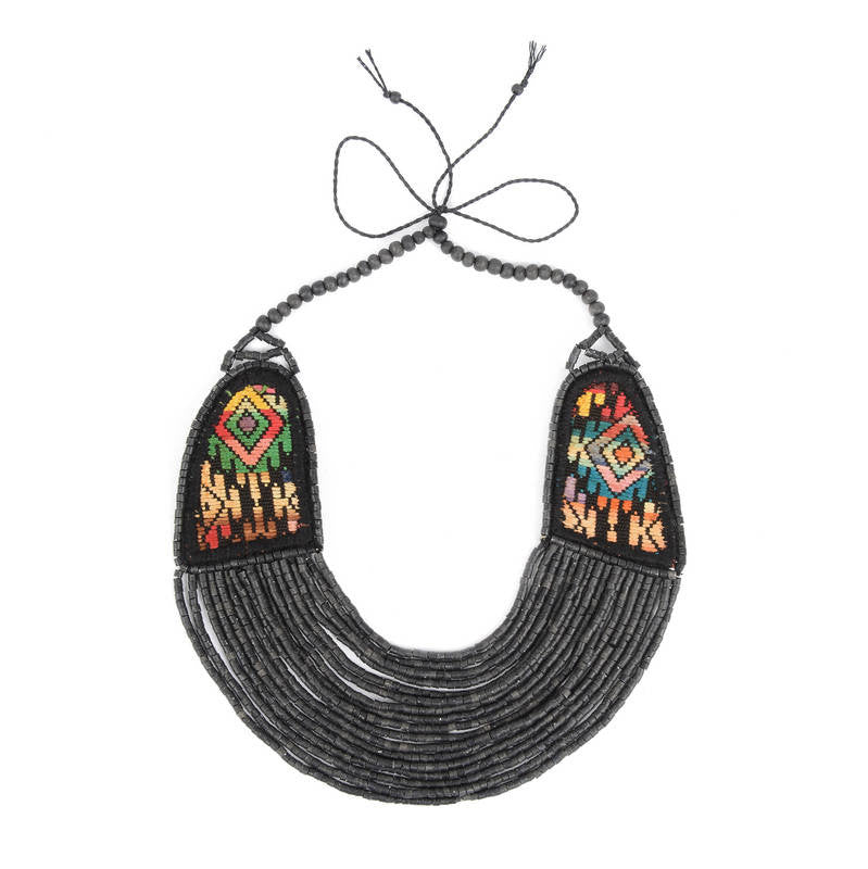 Antigua Multi-Strand Beaded Necklace - Eye Heart Curated