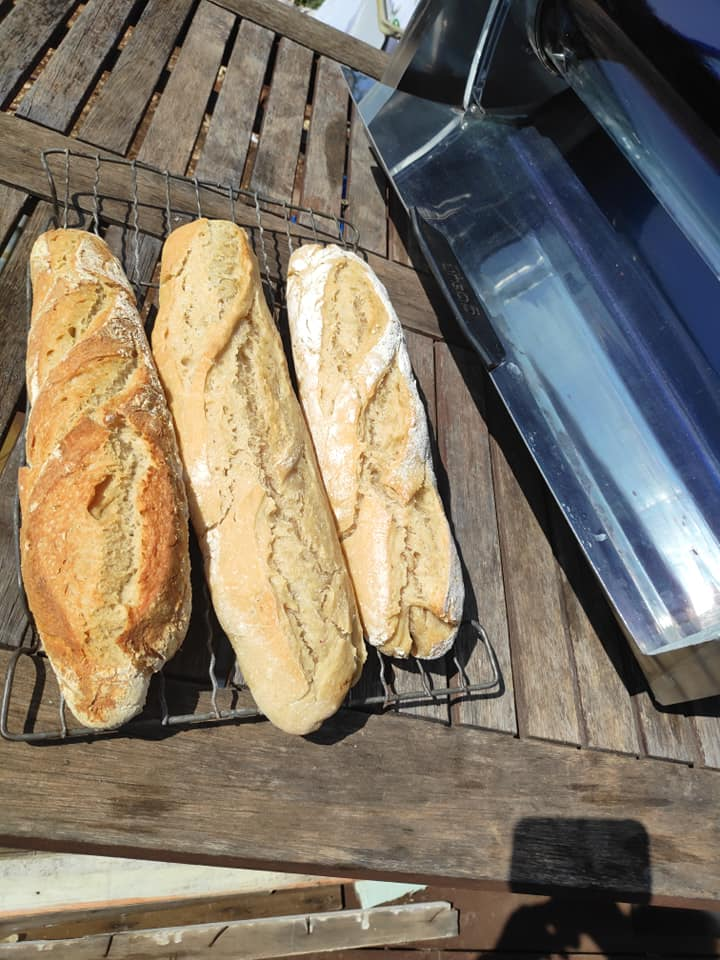Solar Homemade Bread: Baguettes and More