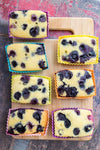 Blueberry Cornbread Muffin Recipe