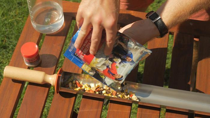 Solar Cooking Dehydrated Foods (Video)