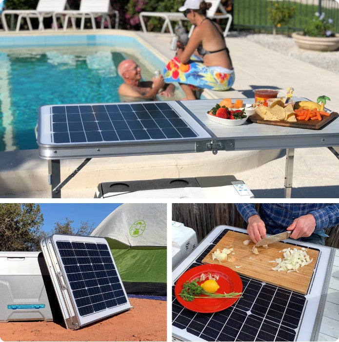 The Solar Table That Charges Your Phone