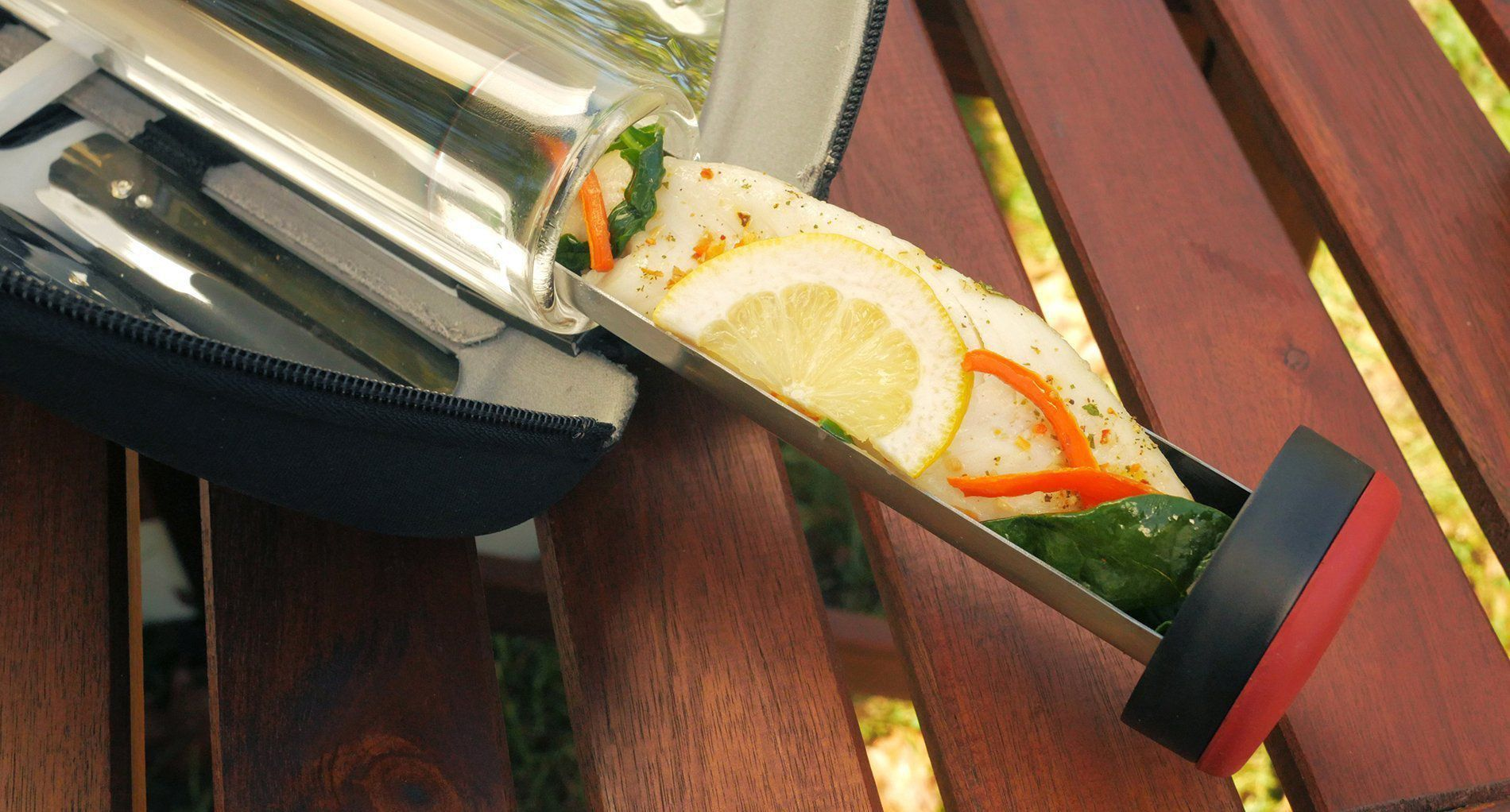 Recipes-Solar Cooking - Go Fish Recipe-solar oven recipes