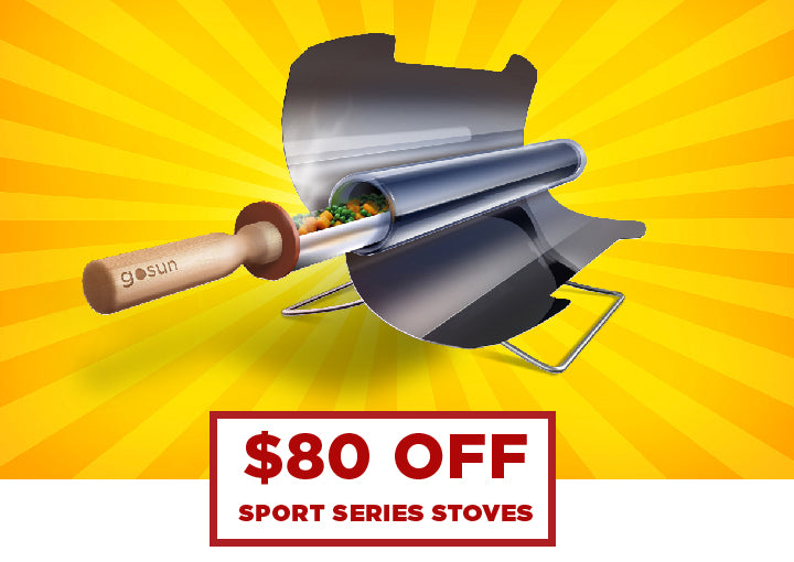 GoSun Stove | Holiday Sale 2016