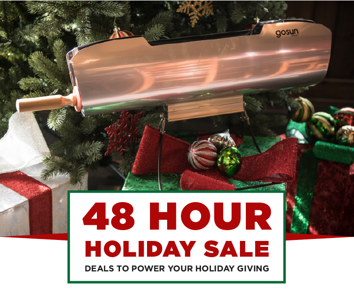 GoSun 40 Hour Holiday Sale