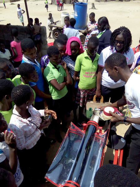 Solar Cooking in Ghana Africa with GoSun Solar Oven