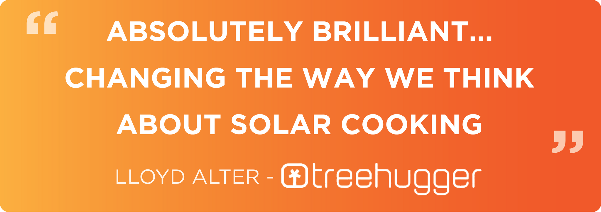 Changing the Way We Think About Solar cooking