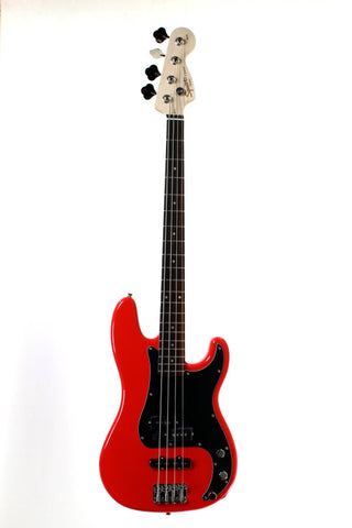 Squier Affinity PJ Bass RW Race Red