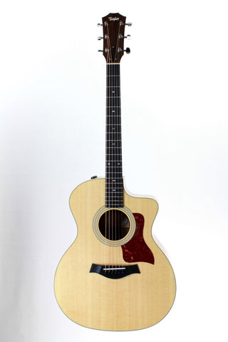 Taylor 214ce-K Deluxe Acoustic-Electric Guitar, Koa back and sides, with case.