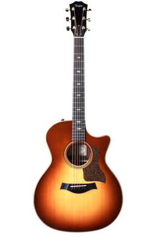 Taylor 714ce Western Sunburst Acoustic-Electric Guitar.
