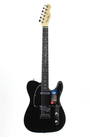 Fender American Elite Telecaster, RW, Mystic Black, with case.