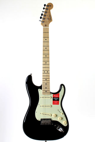 Fender American Professional Stratocaster, Black, Maple Fretboard, with case.