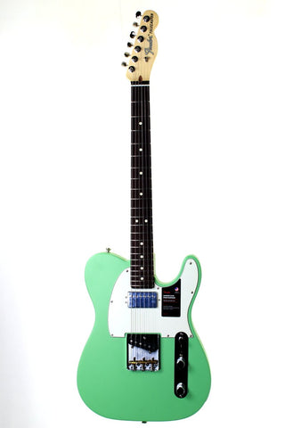 Fender American Performer Telecaster Satin Surf Green