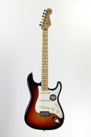Fender American Standard Stratocaster Electric Guitar, 3-Color Sunburst, with case.