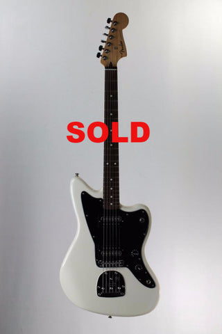Fender Standard Jazzmaster HH Electric Guitar, Olympic White.