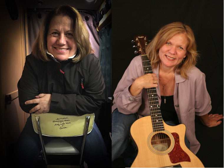 Corrina Carter and Jeannie Willets in Concert at The Fret House