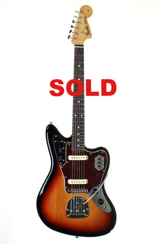 Fender Classic Player Jaguar Special, Sunburst, with gig bag.