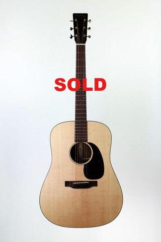 Martin D-15 Special, with case.
