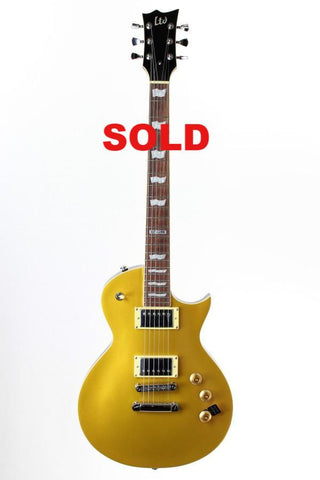ESP LTD Eclipse EC-256 Metallic Gold Electric Guitar