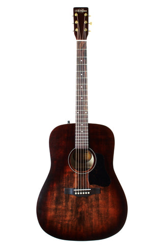 Art & Lutherie Americana Dreadnought Acoustic Guitar, Bourbon Burst.