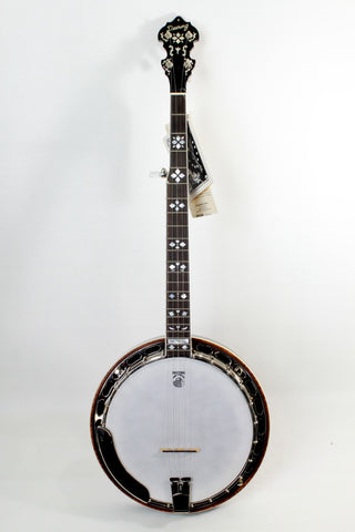 Deering Golden Era 5-String Banjo, with case.