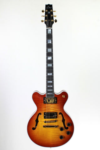 Heritage H-155M Almond Sunburst, 2017, with case