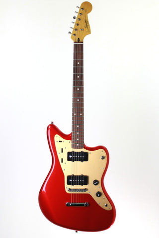 Squier Deluxe Jazzmaster ST, Candy Apple Red.