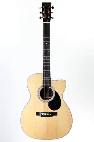 Martin OMC-28E Natural Acoustic-electric Guitar with case