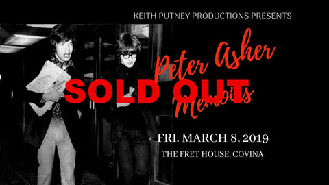 Peter Asher: A Musical Memoir of the 60's and Beyond.