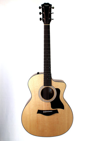 Taylor 114ce Acoustic-electric Guitar, Walnut, with case.