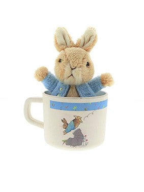 Peter Rabbit Toy and Mug Set