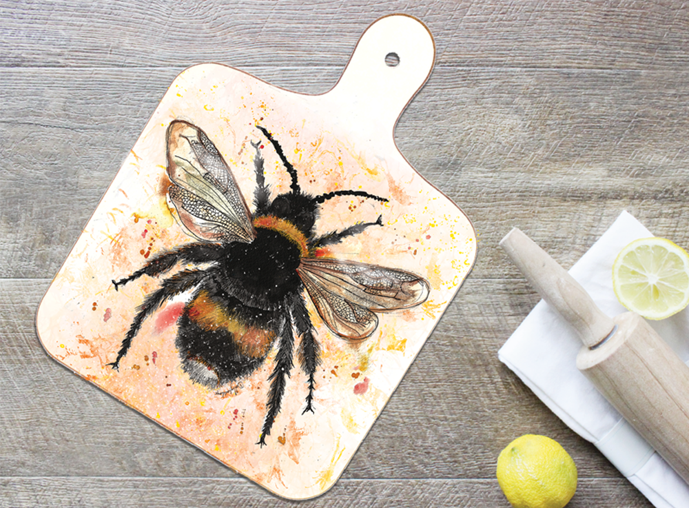 Bee Chopping Board