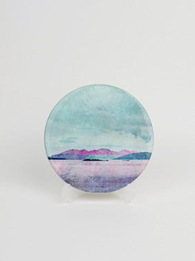 Ceramic Coaster, Isle of Arran