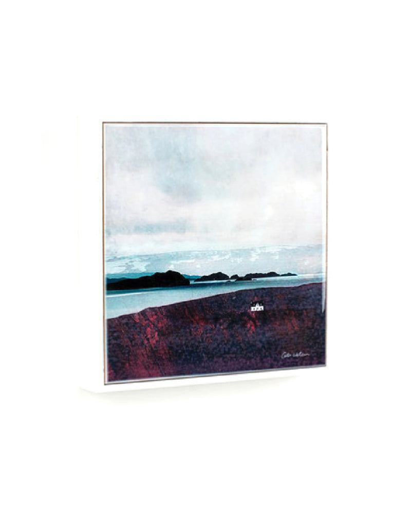 "Framed Ceramic Tile 6"" The Summer Isles Achiltibuie"
