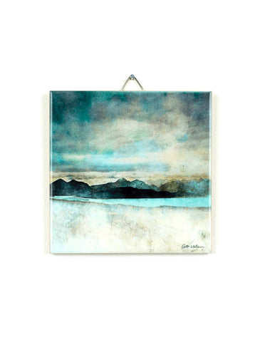 Ceramic Tile in Gift Box Skye from the Bealach Na Ba Applecross