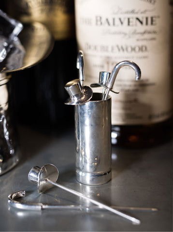 Culinary Concepts Top Hat and Cane Olive Picks with Holder