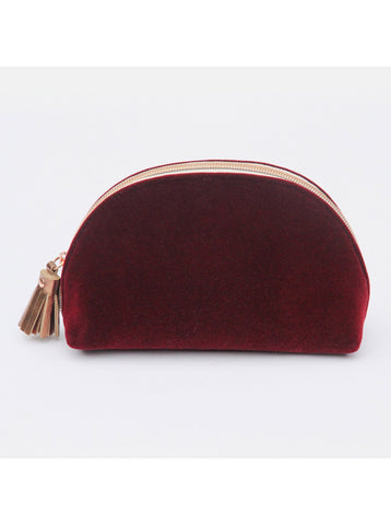 Burgundy Cosmetic Bag