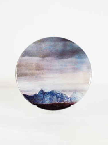 Ceramic Coaster, The Cuillins Isle of Skye