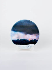 Ceramic Coaster, Moonrise, Isle of Skye