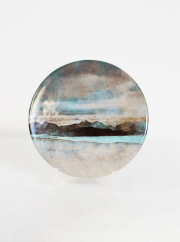 Ceramic Coaster, Skye from Bealach Na Ba Applecross