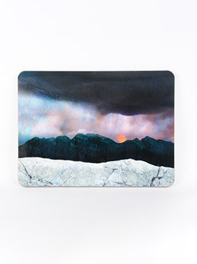 Table Mat, Moonrise over the Cuillins, Skye