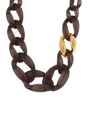 Quiver Brown Necklace