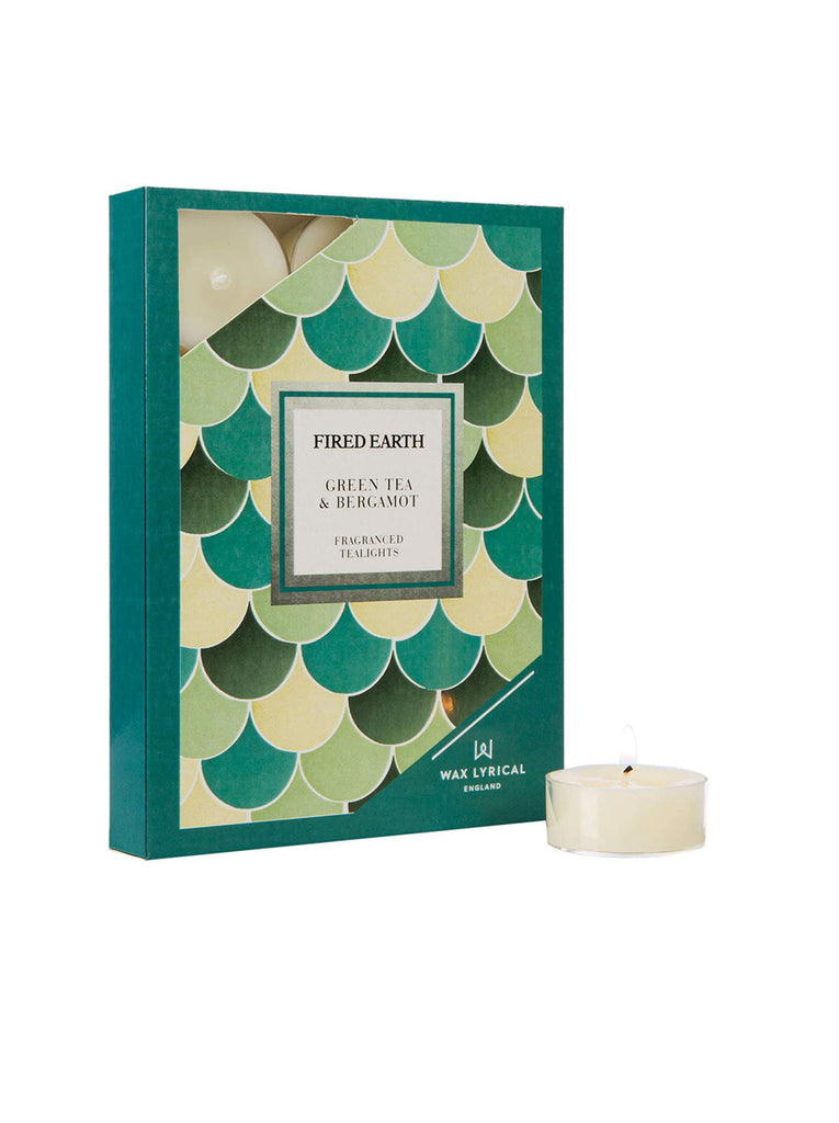 Green Tea and Bergamot Tealights