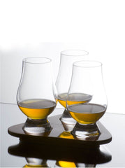 Glencairn Crystal Whisky Glass Taster Set of 3