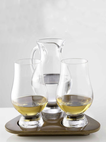 Glencairn Crystal Whisky Glass Taster Set of 2 with Jug