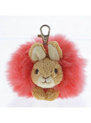 Pink Rabbit keyring