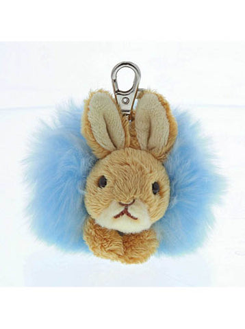 Blue Rabbit keyring
