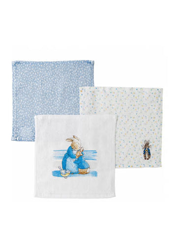 Peter Rabbit Face Cloth Set