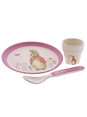 Flopsy Rabbit Organic Bamboo Egg Cup Set
