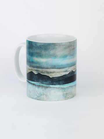Ceramic Mug, Skye from the Bealach Na Ba